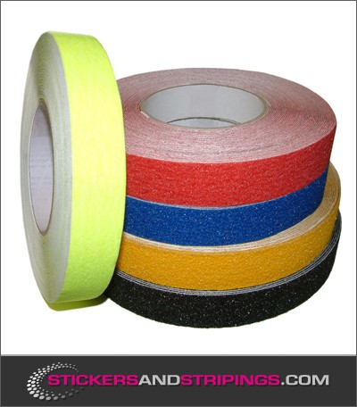 (Y) Antislip striping 25 mm