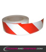(V) Reflective tape red white (L)