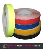 (Y) Antiskid striping 25 mm