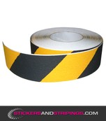 (Y) Antiskid striping 50 mm black / yellow