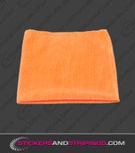 (S) Microfiber Cloth Orange